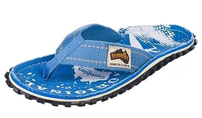 9beea7cadcab Gumbies Islander Light Blue Palm Flip Flop  Amazon.co.uk  Shoes   Bags