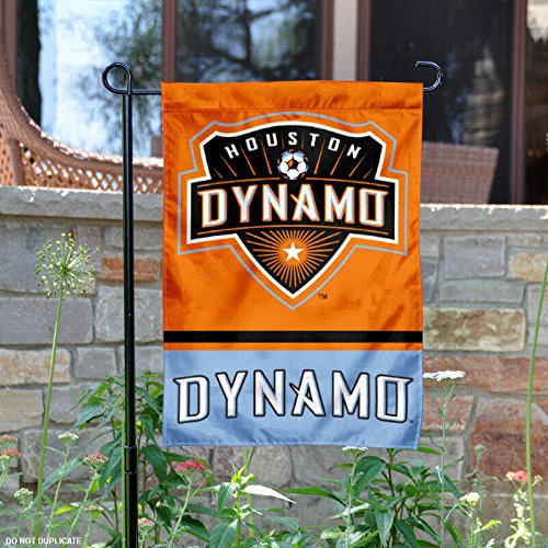 WinCraft Houston Dynamo Double Sided Garden Flag by WinCraft