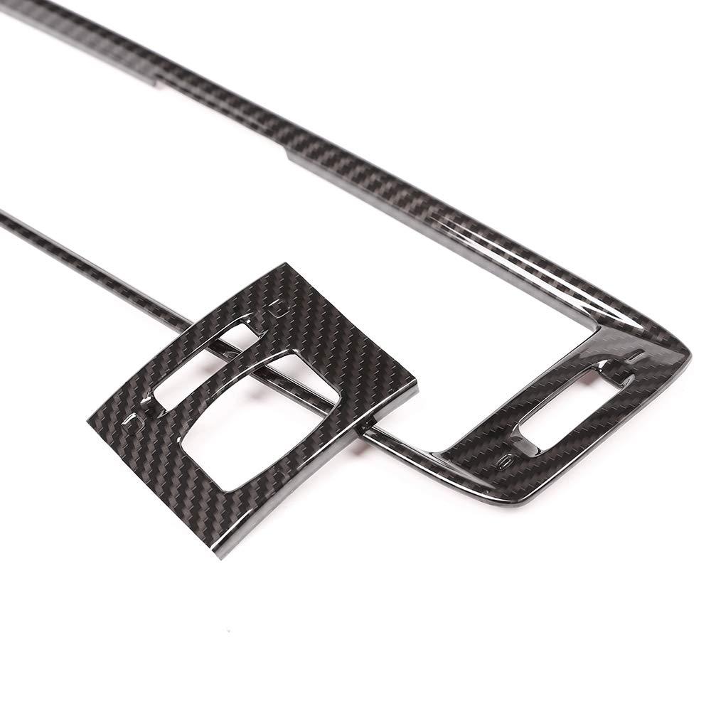 Carbon Fiber Style ABS plastica interni auto aria condizionata Vent Frame Trim for F25/2011/ /2017