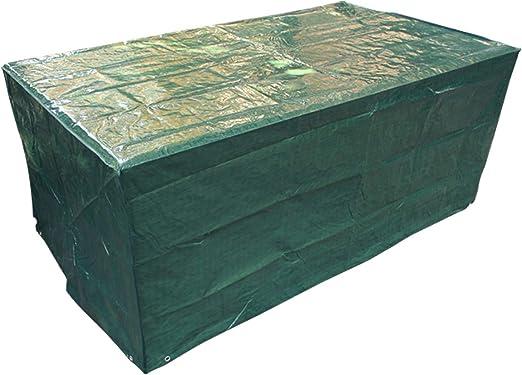 Laxllent Funda para Mesa de Jardín Impermeable al Viento ...