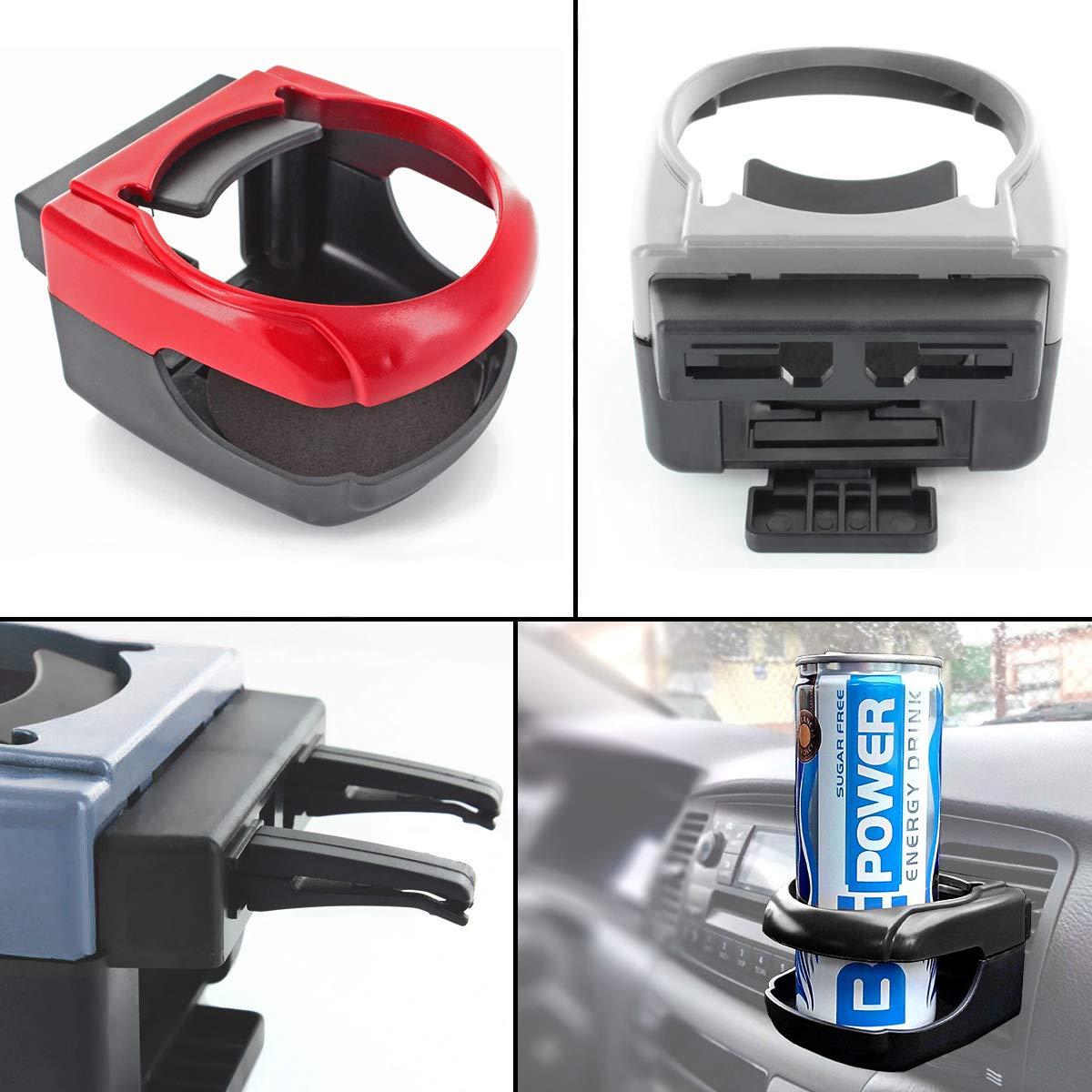 M-import Getr/änkehalter Air Cooler//Heater Schwarz ideal f/ür thermobecher kaffeebecher Auto L/üftung Flaschenhalter Verschiedene Farben