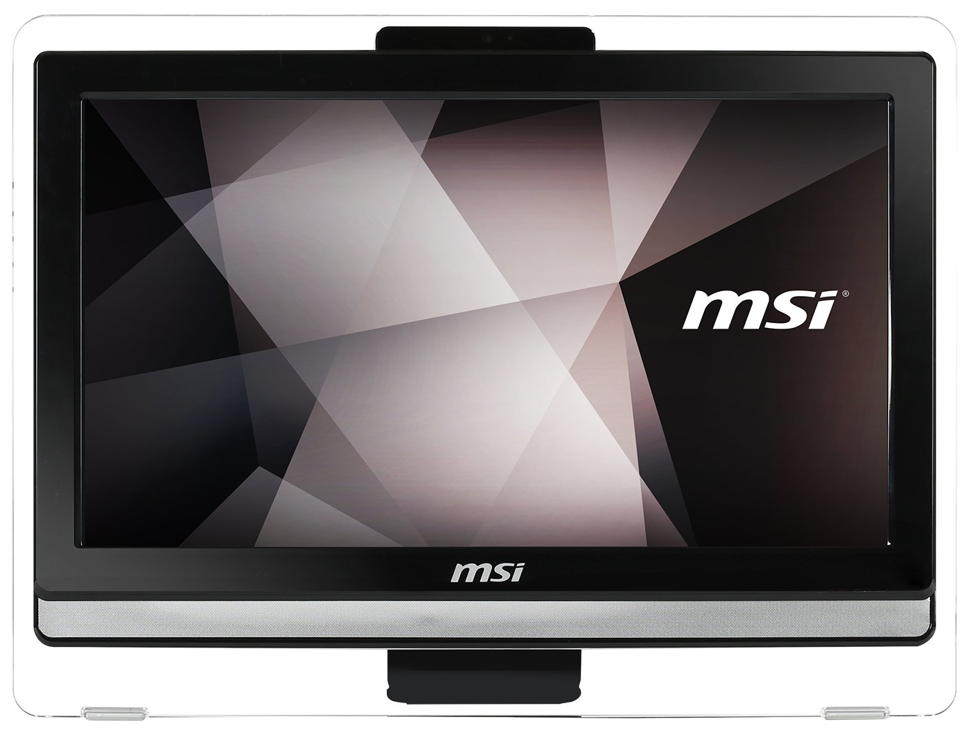 "Amazon.com: MSI Pro 20ET 4BW-048US 19.5"" Display All-In-One Desktop Intel  Celeron N3160 4GB 1TB Optical 2-point Touch Windows 10: Computers &  Accessories"