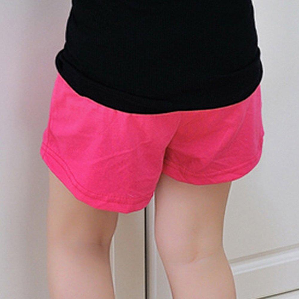 Ularma Verano Niños Pantalones Cortos de Algodón Niños y Niñas Ropa de Moda Bebé Pantalones Cortos (2 Years, Rosa caliente): Amazon.es: Ropa y accesorios