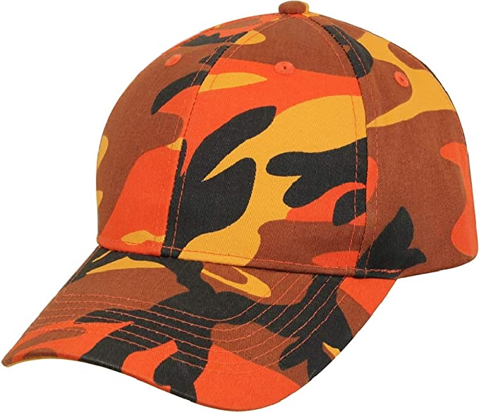 Adult Supreme Orange Camo Low Profile Ball Cap at Amazon Men s ... df6642230013