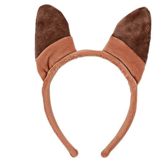TFJH E Toddler Lovely Fox Ears Elk Antlers Headband Fox