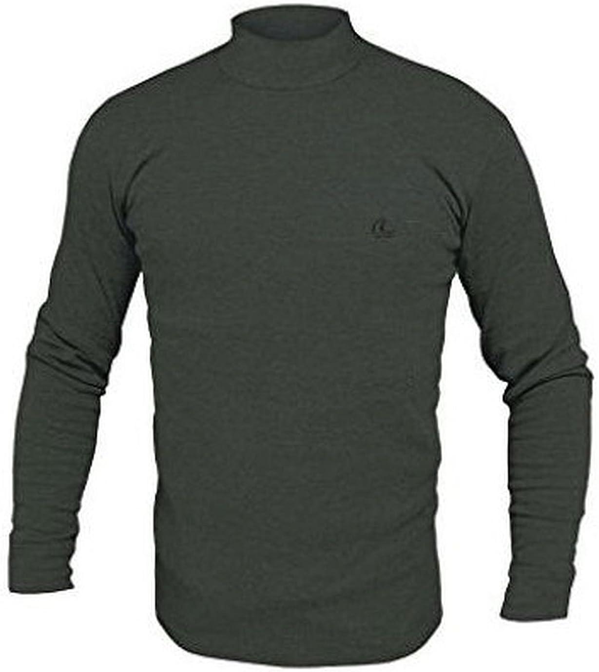 Disponibile in Vari Colori nelle Taglie dalla 3 alla 7 Navigare Lupetto Collo Alto Uomo Manica Lunga Underwear in Cotone Interlock GARZATO