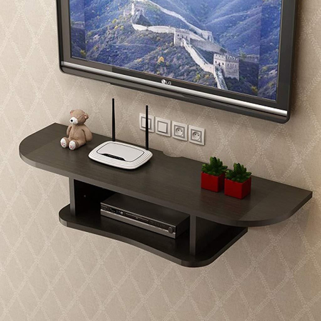 テレビフローティング棚ウォールマウント棚テレビコンソールルーターラック収納ボックスセットトップボックス多機能ディスプレイ棚 (色 : D, サイズ さいず : 80センチメートル) B07RDWZMB5 D 80センチメートル