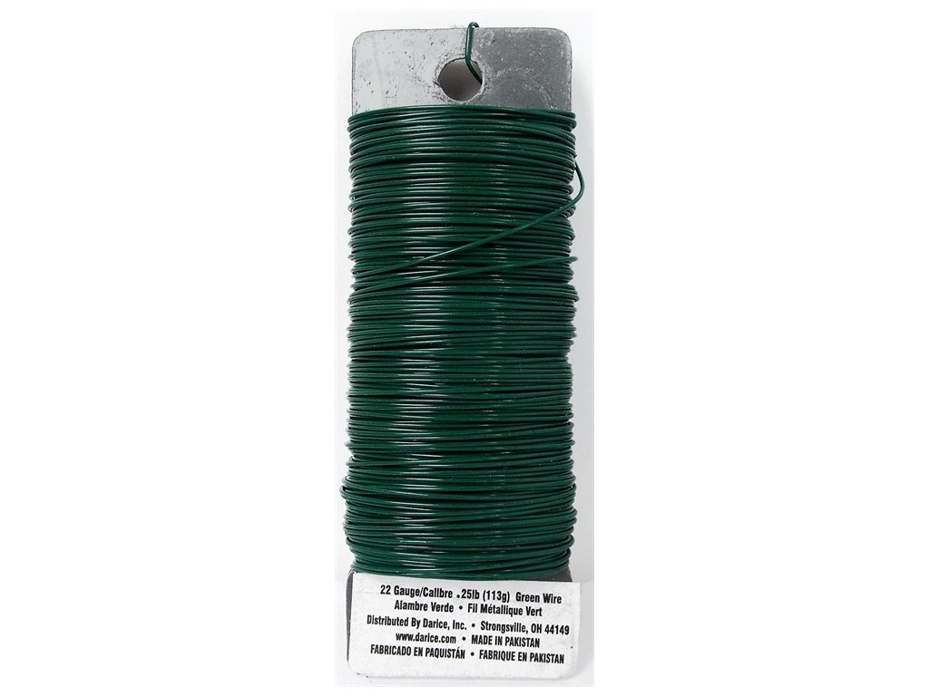 Amazon.com: Darice Paddle Wire, 22-Gauge, Green
