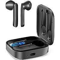 (Sonido mejorado)Audífonos Bluetooth 5.0, BOBITOS Auriculares inalámbricos IPX8 Impermerable , Reduce el Ruido CVC8.0…