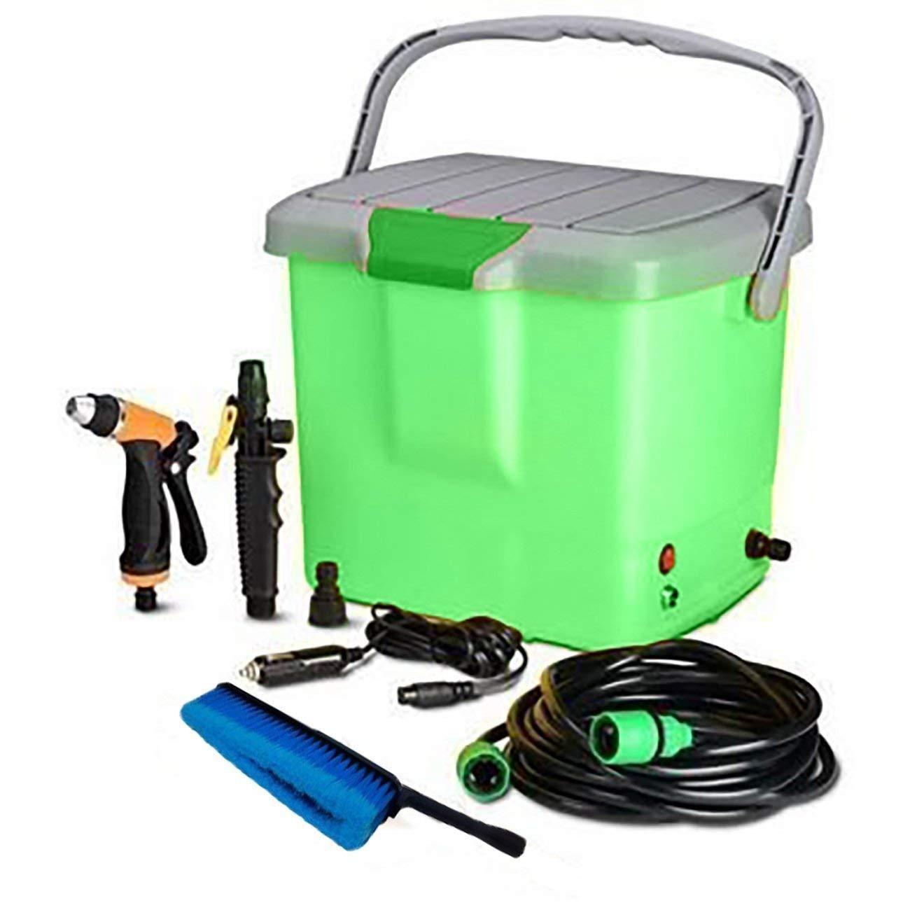 SHOPPOWORLD High Pressure Portable Car Washer With Electric clean Spray  Gun, High Pressure water Pump, Brush, Storage Box, High Pressure Wand  Perfect