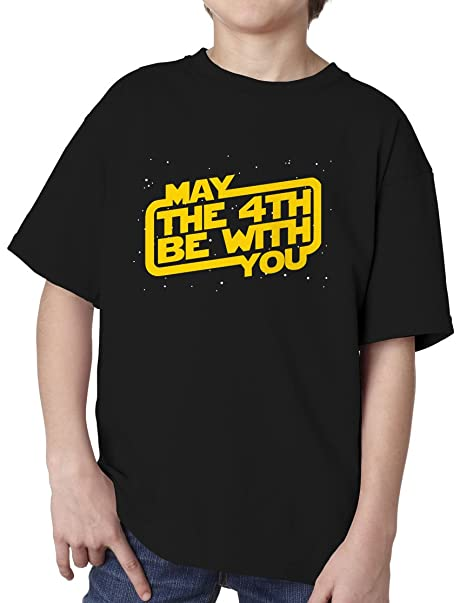 1d64f6d20 Amazon.com: BBT Kids Boys Girls Star Wars Day, May the 4th Be With ...