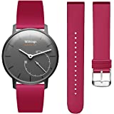 Hanlesi Withings Steel HR Watch Strap, Soft Silicone Sport Fitness Strap Accessory Replacement Bracelet for Withings Steel HR Withings Activite Pop Wristband Accessory Replacement