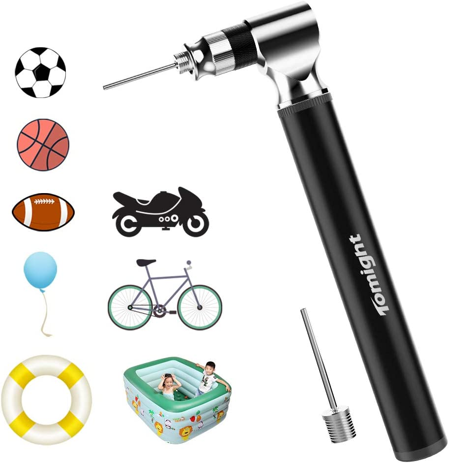 Tomight Mini Bike Pump, 300 PSI Bicycle Pump with Frame Fits Presta and Schrader, Accurate Fast Inflation, Mini Bicycle Tyre Pump for Road, Mountain Bikes : Sports & Outdoors