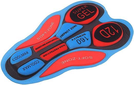 Radfahren Unterwäsche Shorts Pad für Fahrradhose Fahrradbekleidung 12D Zubehör