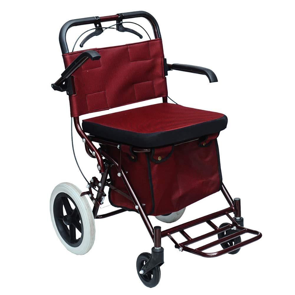【保証書付】 歩行器背部サポートが付いているドライブ医学の鋼鉄四輪ローラー、調節可能なarmrest、パッドを入れられた座席、赤 Bigwheel Bigwheel B07MVCYQD5 B07MVCYQD5, plank:5038c112 --- a0267596.xsph.ru