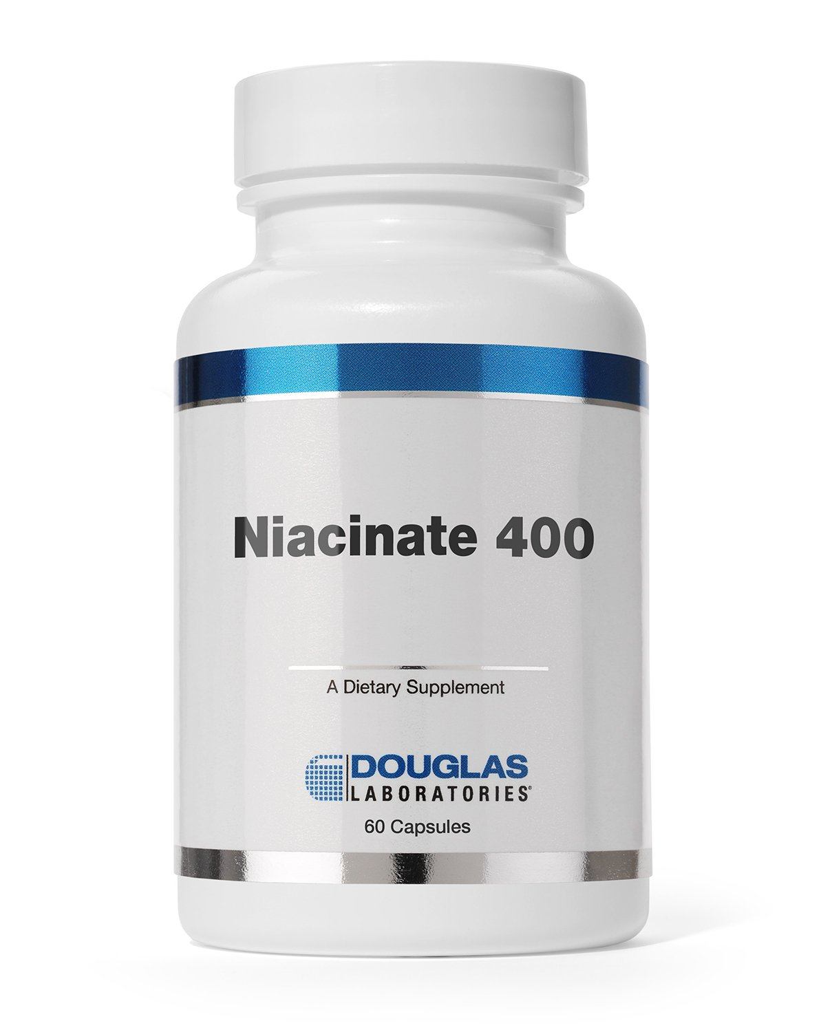 "Douglas Laboratories - Niacinate 400-400 mg. ""No-Flush"" High Potency Niacin to Support Cardiovascular Health* - 120 Capsules"