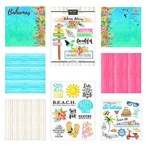 Scrapbook Customs Bahamas Getaway Scrapbook Kit