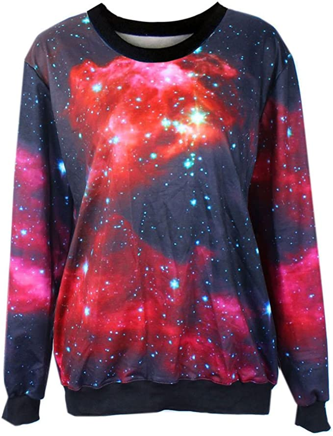 Space Galaxy Nebula Sweatshirt