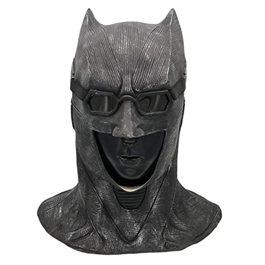 QQWE Batman Latex Mask Dark Knight Masquerade Party Película ...