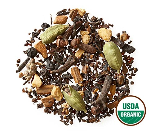 Golden Moon Tea, MASALA CHAI TEA, 181 Servings, Authentic Original Organic Recipe (Iced Chai Tea Latte Recipe With Tea Bag)