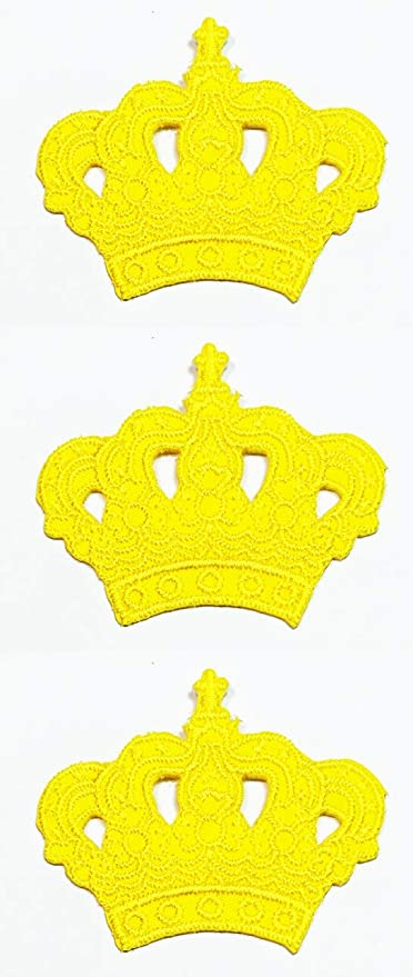 Amazon Com Set 3 Pcs Mini Small Yellow Crown King Princess Embroidery Patch Stickers Cartoon Kid Baby Girl Jacket T Shirt Patch Sew Iron On Embroidered Sign Badge Costume Clothing Arts Crafts Sewing Lovepik provides 290000+ cartoon crown photos in hd resolution that updates everyday, you can free download for both personal and commerical use. amazon com