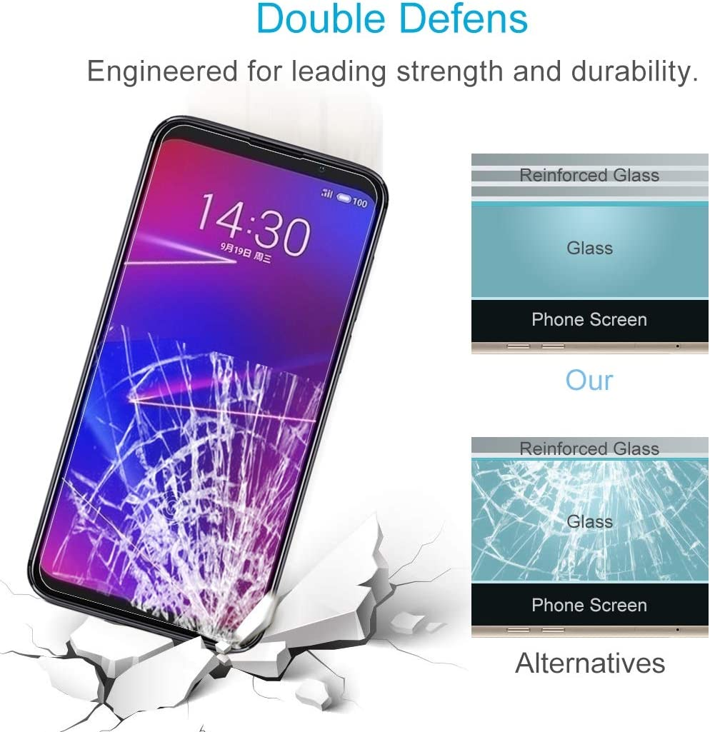 2018 Glass Film DESHENG Clear Screen Protector 25 PCS AG Matte Anti Blue Light Full Cover Tempered Glass for Galaxy A6