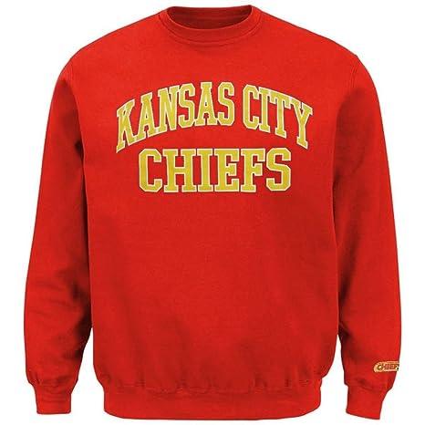 timeless design a556a c0943 Amazon.com : Kansas City Chiefs NFL Mens Backfield Crew Neck ...