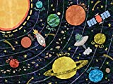 Oopsy Daisy Super Solar System by Alice Feagan Canvas Wall Art, 24'' by 18''