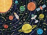 Oopsy Daisy Super Solar System by Alice Feagan Canvas Wall Art, 24'' by 18''