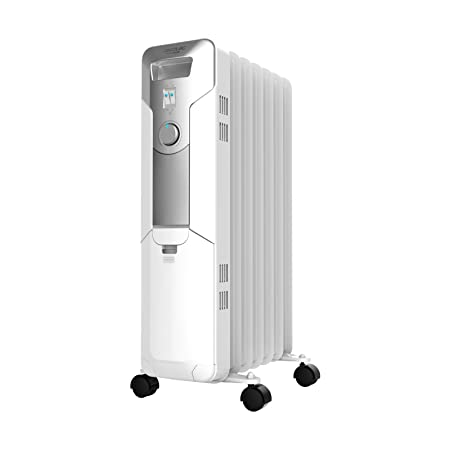 Cecotec Ready Warm 5600 Space - Radiador de Aceite de 7 Módulos, Blanco: Amazon.es: Hogar