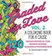 Shaded with Love Volume 2: A Coloring Book for a Cause