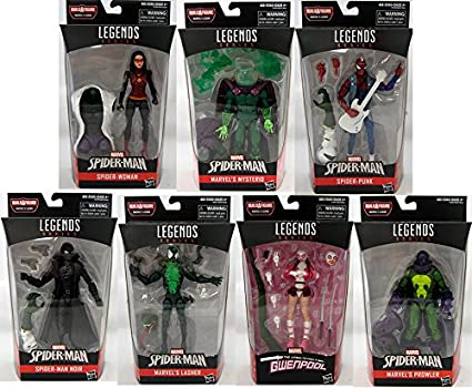 6ebb953fab62d Amazing Spider-Man Marvel Legends Figures Wave 9 Set
