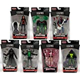 Amazing Spider-Man Marvel Legends Figures Wave 9 Set