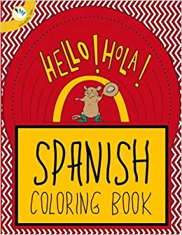 Spanish Coloring Books for kids: Color and Learn: Individuality ...
