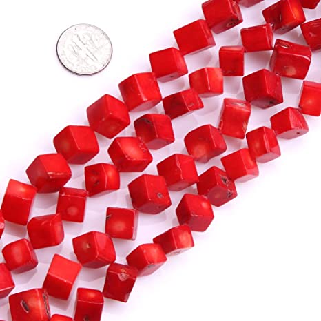 GEM-inside Rose Quartz Gemstone Losse Beads Natural Genuine 12mm Square Energy Stone Power Beads for Jewelry Making 15