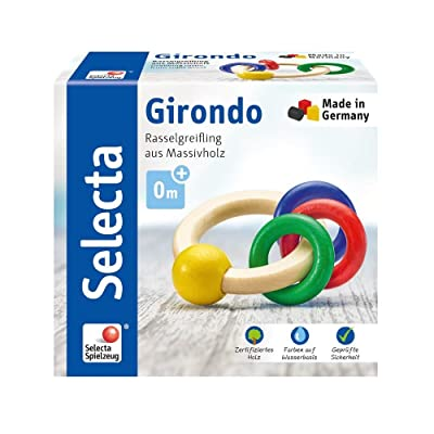 Selecta Grasping Toy 61036 Girali Mug, Multi-Colour: Toys & Games