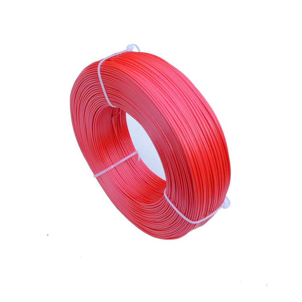 PLA+ 3D Printer Filament 0.8KG LEE FUNG 1.75mm PLA Plus 1.76lbs Refill - Red NO Spool
