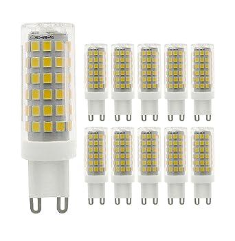 G9 Halogène 10 Menta Faisceaux220 De ÉquivalentBlanc 240v Led Froid Larges Ampoule 6000k750lm360° DimmableLot 9w75w AcNon srCBQdhtx