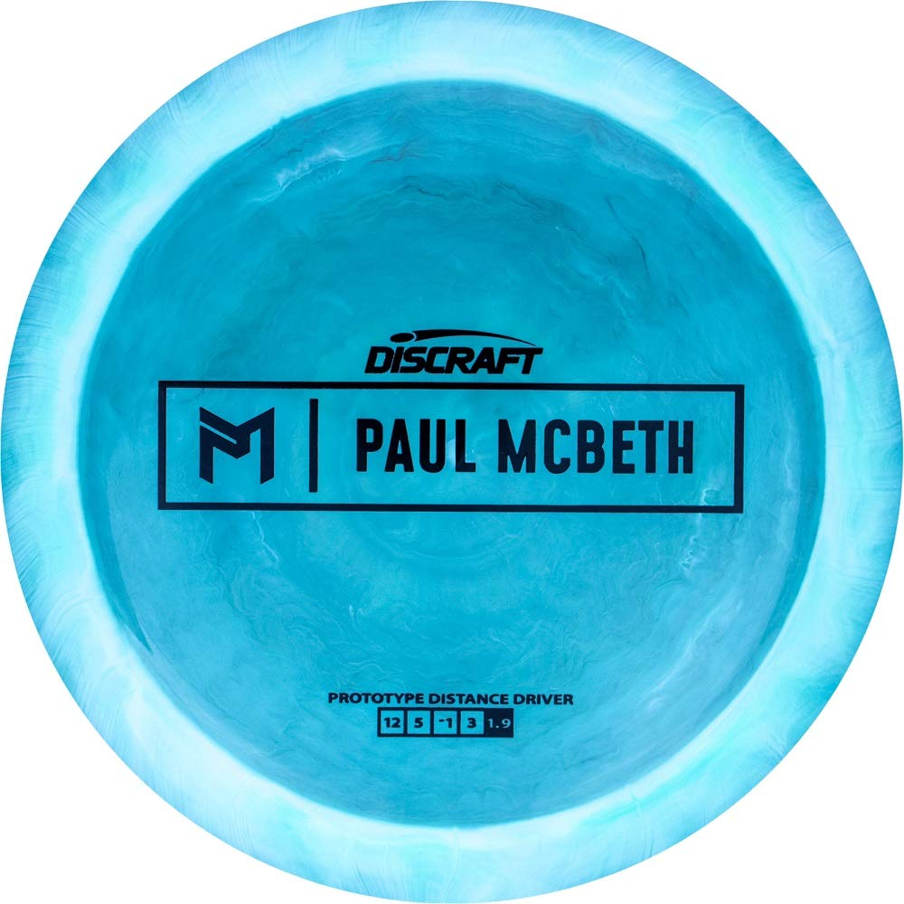 Discraft Limited Edition Paul McBeth Signature Prototype Kong Distance Driver Golf Disc [Colors May Vary] - 170-172g by Discraft Golf Discs