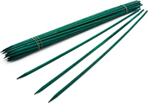 "18"" Green Wood Plant Stake, Floral Picks, Wooden Sign Posting Garden Sticks (25 Pcs) by Royal Imports"