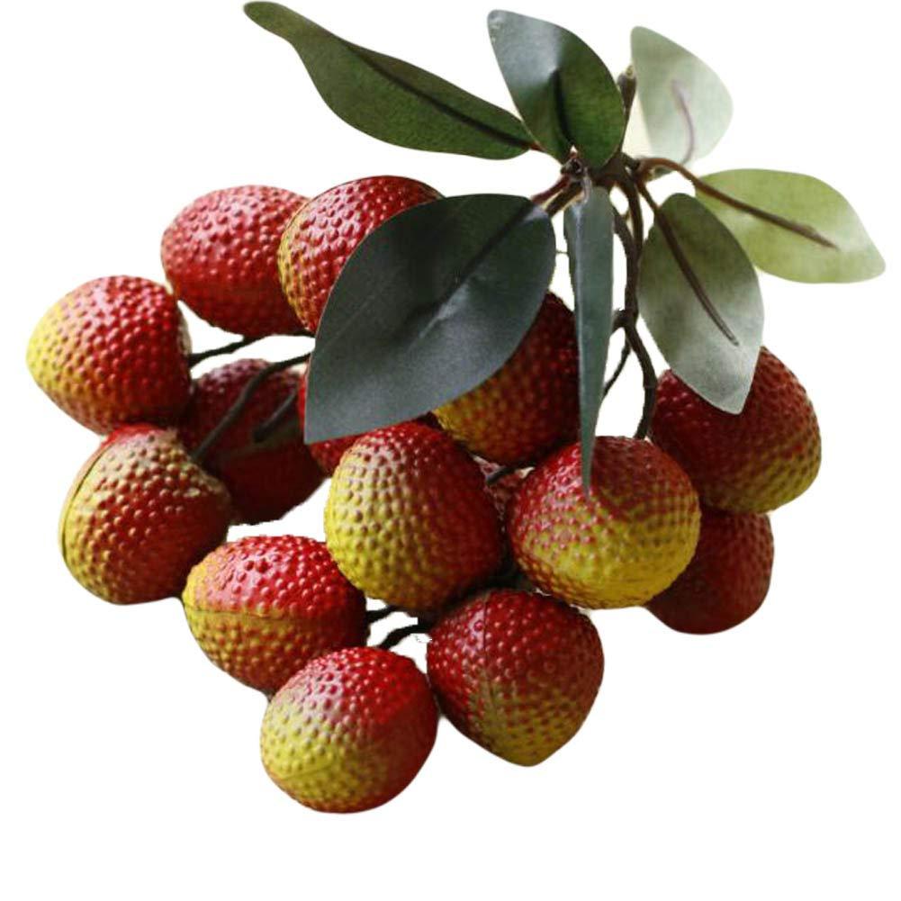 East Utopia D/écor de Fruits artificiels artificiels r/éalistes de Fruits