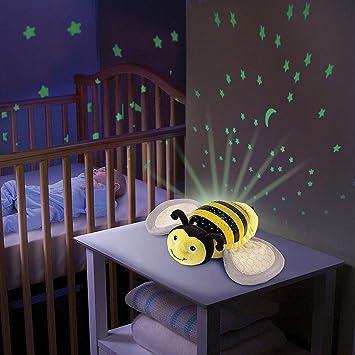 Chigant Juguetes de Felpa 2 in1 Luz Nocturna y proyector de ...