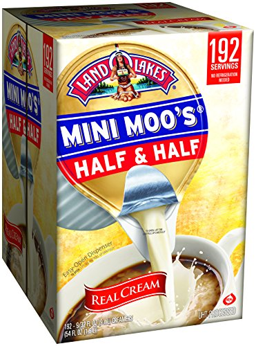 Land O Lakes Mini Moos Creamer, Half and Half Cups, 192 C...