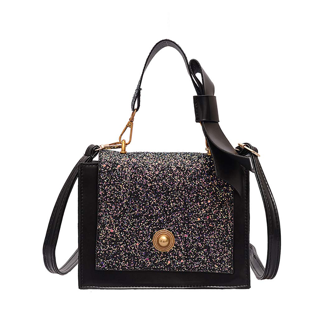 Women Joker Messenger Bag Simple Fashion Contrast Small Square BagHandbags&Clutches&Evening Bags