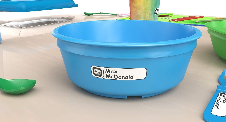 Waterproof Kids Name Labels for Baby Bottles Bottle Labels Soccer Sticker Custom Name Label Dishwasher Safe Sippy Cup for Daycare School