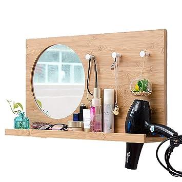 Amazon.com: SYLJ Bathroom Mirror, Bedroom Vanity Mirror ...