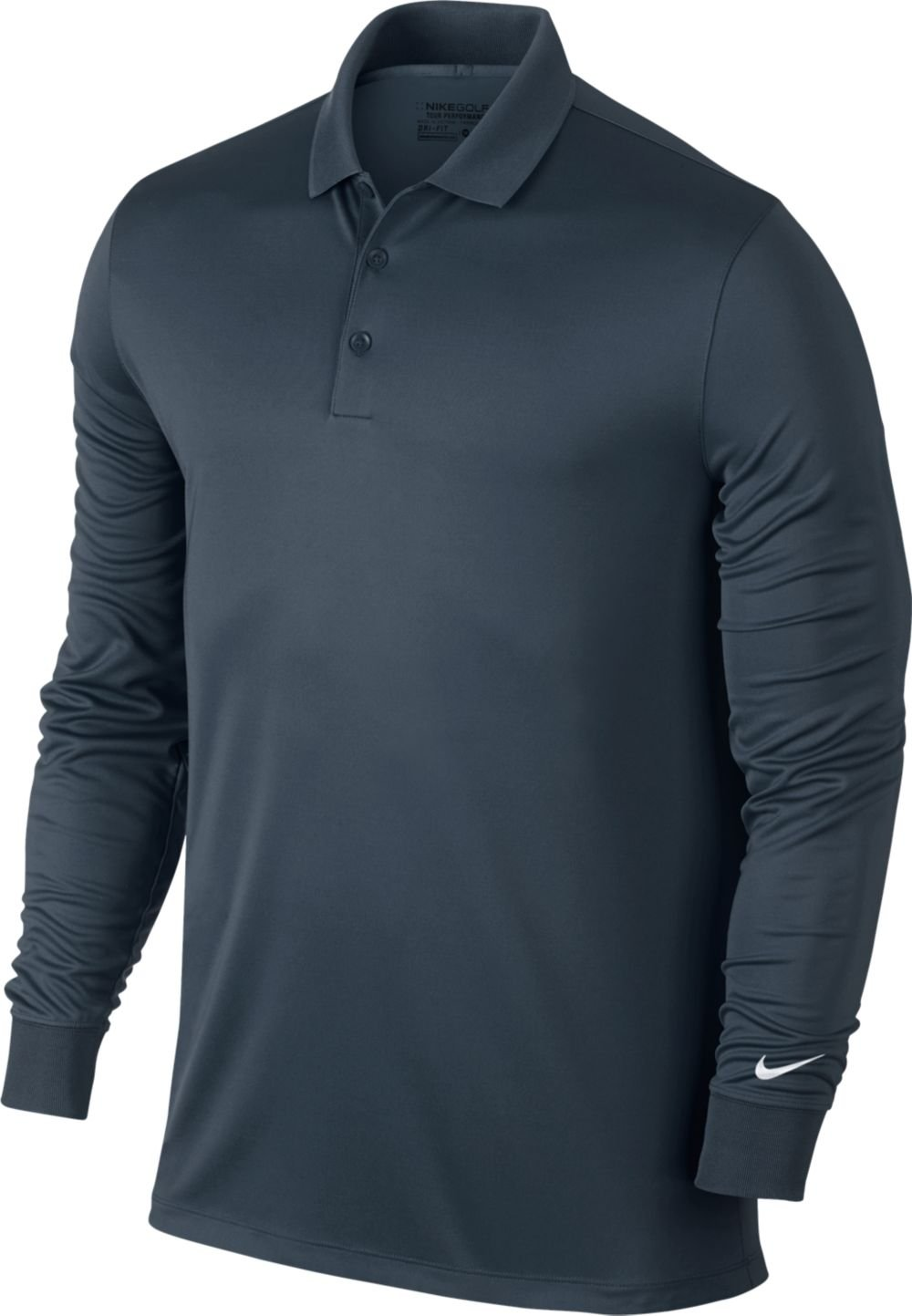 1f7a084ad Amazon.com : NIKE Golf Men's Victory Long Sleeve Polo : Sports & Outdoors