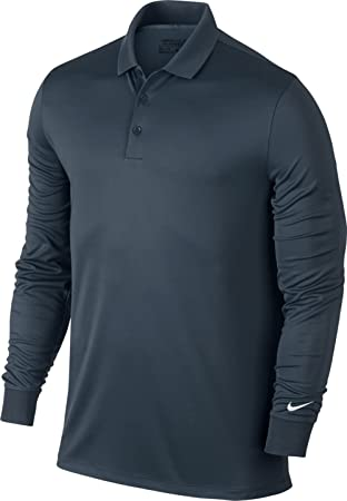 Amazon.com : Nike Victory Long Sleeve Polo : Clothing