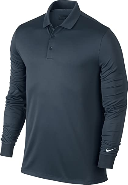 promo code 539ca 48cb3 Nike Golf Closeout Men s Victory Longsleeve Polo- Assorted 725514 (Armory  Navy, ...