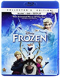 Cover Image for 'Frozen (Two-Disc Blu-ray / DVD + Digital Copy)'